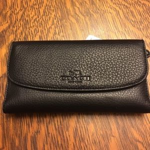 Coach Handbags - Authentic Coach Checkbook Wallet