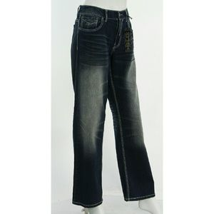 helix Jeans - ☄HP☄ NWT Helix Jeans NEW Faded Classic Rise 32/30