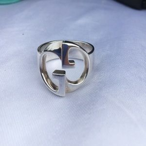 Gucci Jewelry - ❤️️FINAL PRICE❤️️Gucci Double G Silver Ring