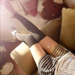 Other - NEW Full length illusion thigh high stockings