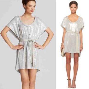 Diane von Furstenberg Dresses & Skirts - DVF silver sequins dress