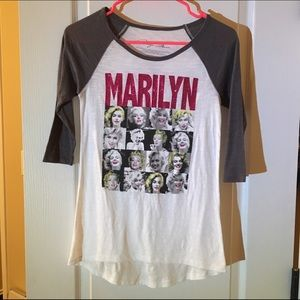 Marilyn Monroe graphic tee