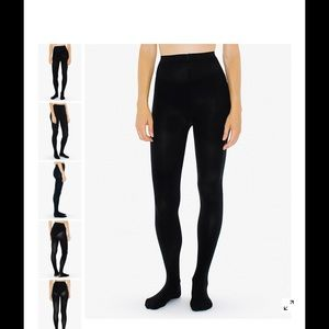 American Apparel Accessories - AA black pantyhose❤️