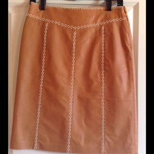 Gap Factory leather skirt