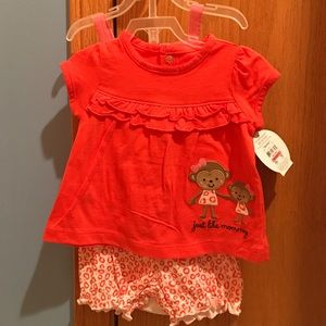 Carter's Other - New with tags. Carters outfit. Three pieces.