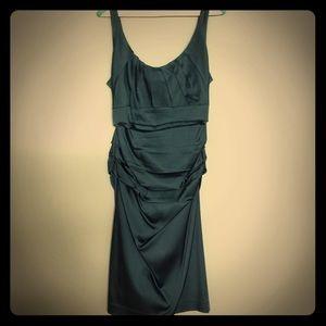 suzi chin  Dresses & Skirts - Emerald cocktail dress!