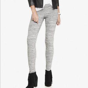Express gray stretch leggings size M