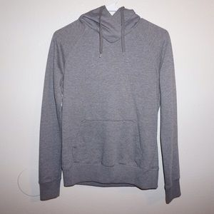 H&M Sweaters - H&M hoodie in gray. Size 4. Never worn.
