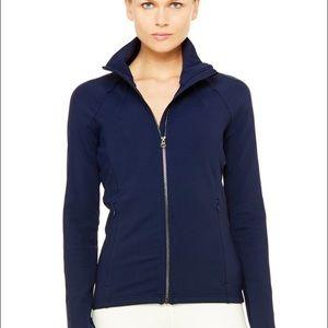 4b338505c Alo Yoga Kata Jacket- Navy Blue sz Small- NWT NWT