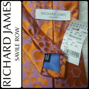 Barneys New York Other - Richard James Savile Row by Barneys NY Silk Tie