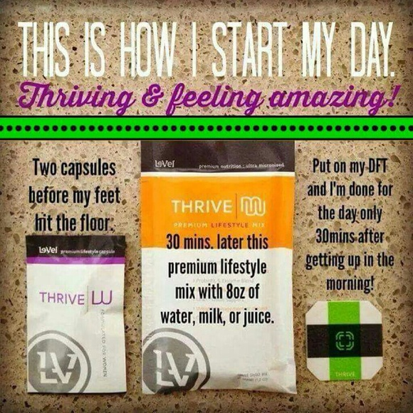 Le Vel Other Level Thrive Capsules Shakes Ddt Patches Poshmark