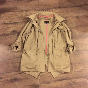 Hurley trench coat