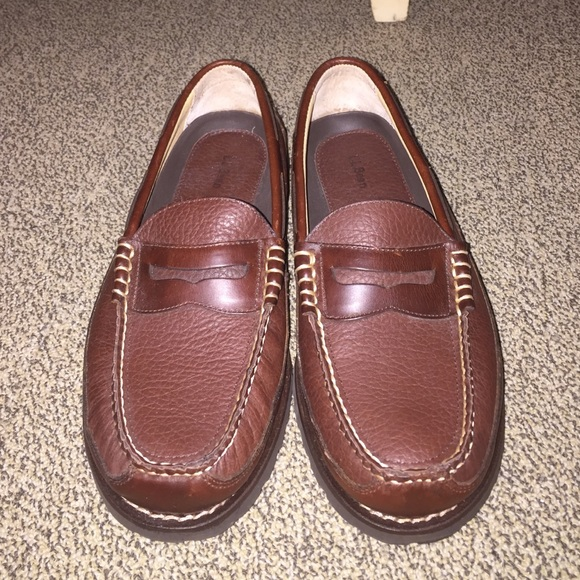 Ll bean penny loafers