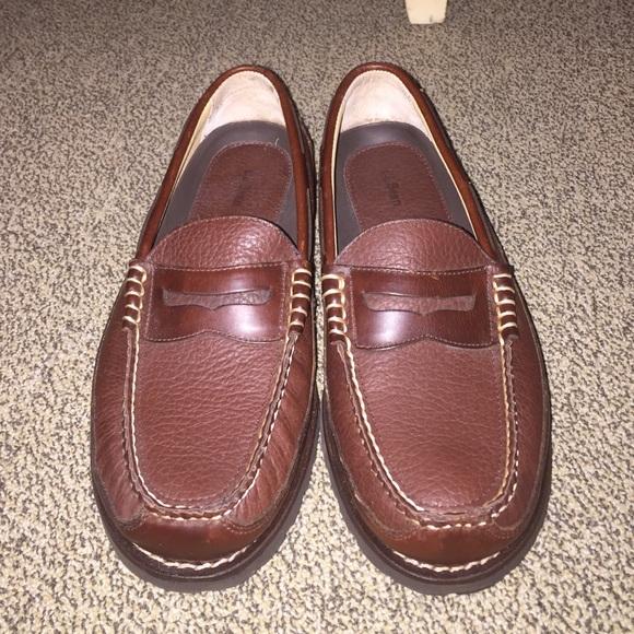 5ffec673032 L.L. Bean Other - L.L. Bean Men s Allagash Bison Penny Loafers