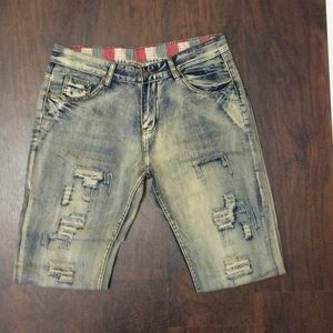 Boutique Other - ❤ (Men's) Distressed Straight Leg Jeans