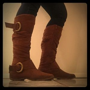 Suede like brown Boots