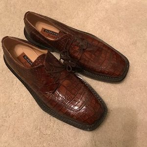 Florsheim Other - Dark brown Florsheim dress shoes.