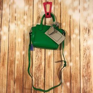 Reed Krakoff Handbags - REED Krakoff Green Small Satchel With Coin Purse