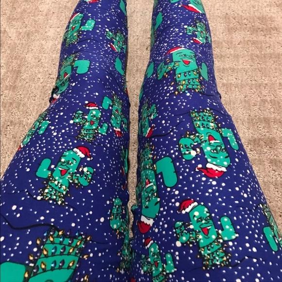 lularoe christmas leggings tc t