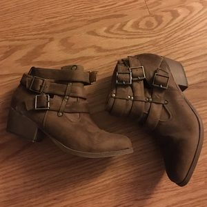 coconuts Shoes - Buckle up booties
