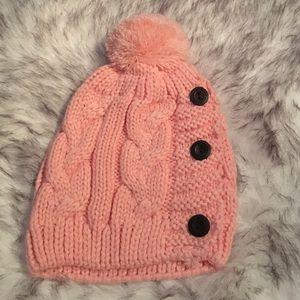 Cute Soft Pink Beanie