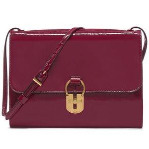 Tory Burch Patent Convertible Shoulder Bag/Clutch