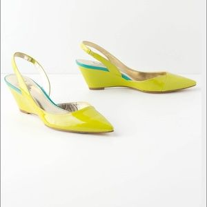 Belle by Sigerson Morrison Shoes - BELLE Sigerson Morrison Lime Green Pump Size 5.5