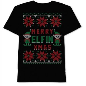 JEM Other - Merry Elfin' Christmas Graphic-Print T-Shirt