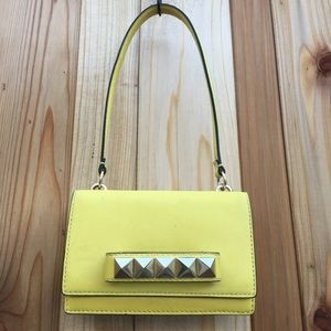 Valentino Handbags - Valentino Va Va Voom yellow mini flap Shoulder Bag