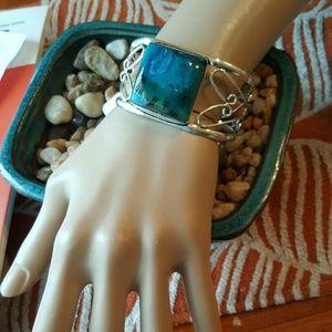 Robin's Nest Jewels  Jewelry - Dendtrite opal bracelet