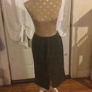 who what wear  Dresses & Skirts - Paris Green Skirt