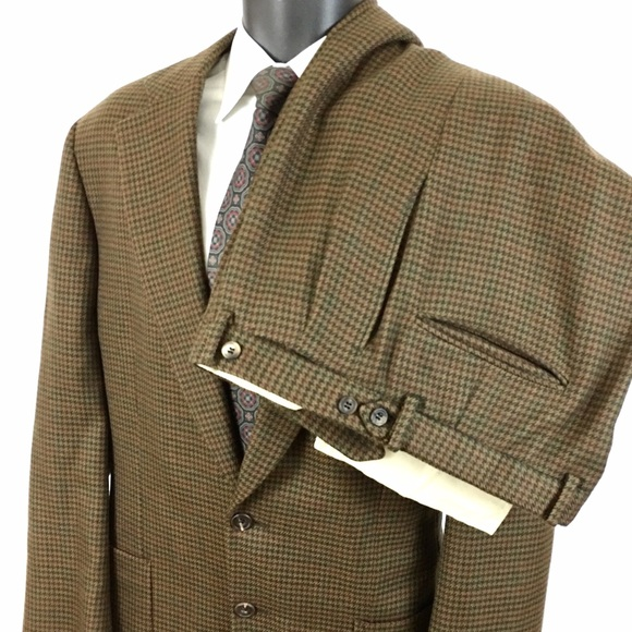 62% off Paul Stuart Other - Paul Stuart 100% Wool Brown ...