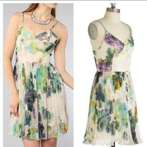 Jack by BB Dakota Dresses & Skirts - Jack Dakota Floral Monique Fifi Pleated Dress M