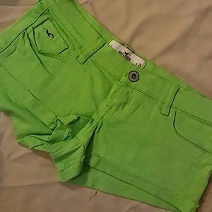 Hollister Hot Shorts Sz 1/25