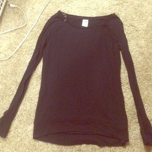 VS PINK black long sleeve
