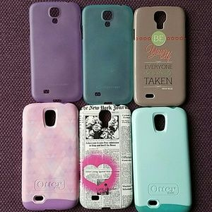 OtterBox Accessories - Galaxy S4 Phone case bundle