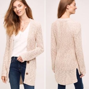 Angel of the North Mori Cardigan in pale rose