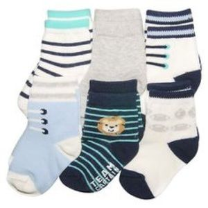 Carter's Other - NEW Carter's 6 pack Boy's Baby Socks Sports
