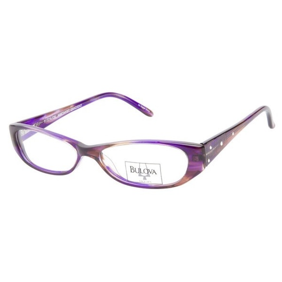 Bulova Accessories | Ending Authentic Cat Oval Eyeglass Frames ...