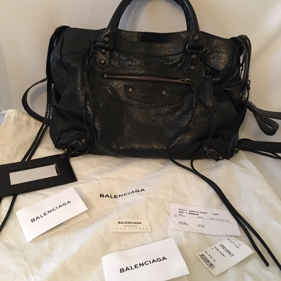 7a2dc9a524a Balenciaga Bags | Authentic Classic Velo Black Crossbody | Poshmark