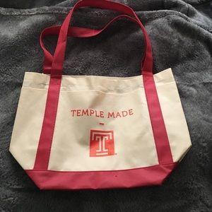 Temple University Tote bag