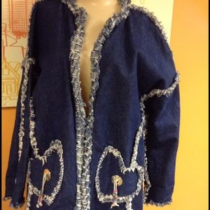 Jackets & Blazers - One of a kind Blue Jean coat