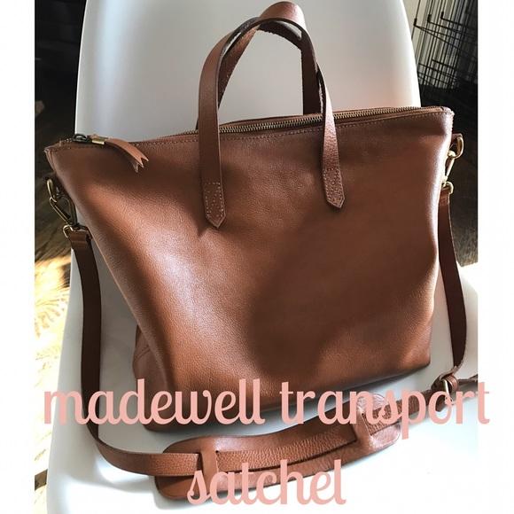 26% off Madewell Handbags - SALE TODAY✨Madewell Transport Satchel ...