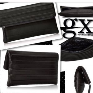 Gx Authentic real leather clutch never been used s