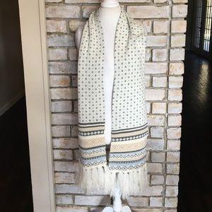 Preston & York Accessories - Beautiful Reversible Wool Blend Scarf