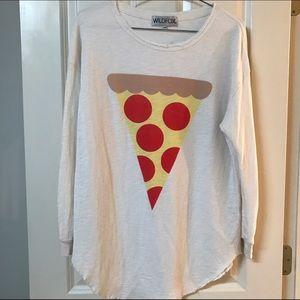Wildfox Pizza Shirt size XS