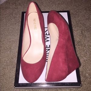 ✨SALE✨Wedge suede shoes ❗️FINAL PRICE❗️