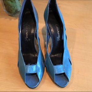 Vintage flapper style heels