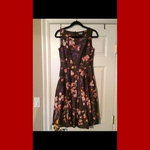 H&M Floral Full Skirt Dress Size 6 / 36