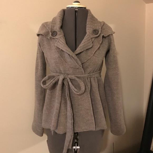 Anthropologie Sweaters Boiled Wool Sweater Jacket Poshmark